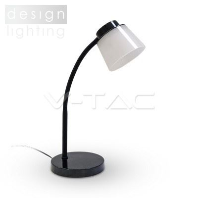 LED lampička černá se stínidlem