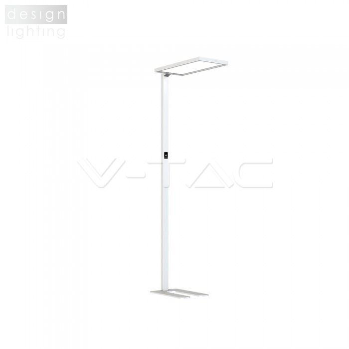 LED stojací lampa UP&DOWN - dotykové stmívání - bílá