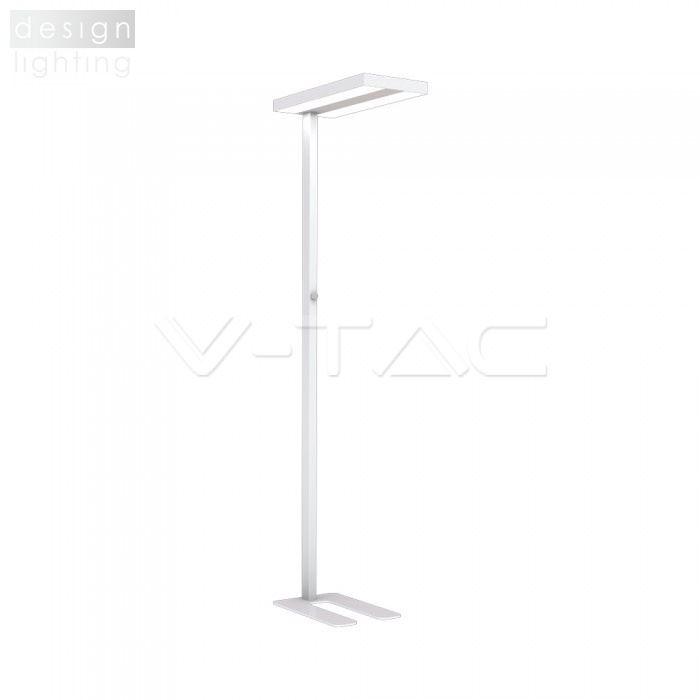 LED stojací lampa UP&DOWN - bílá