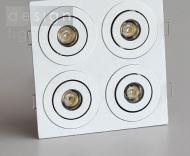 LED podhledové svítidlo 4x1W