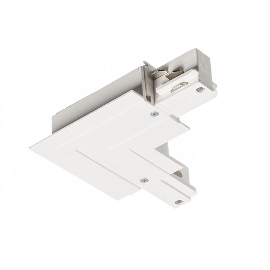 EUTRAC L spoj vnější pro zápusnou lištu bílá 230V