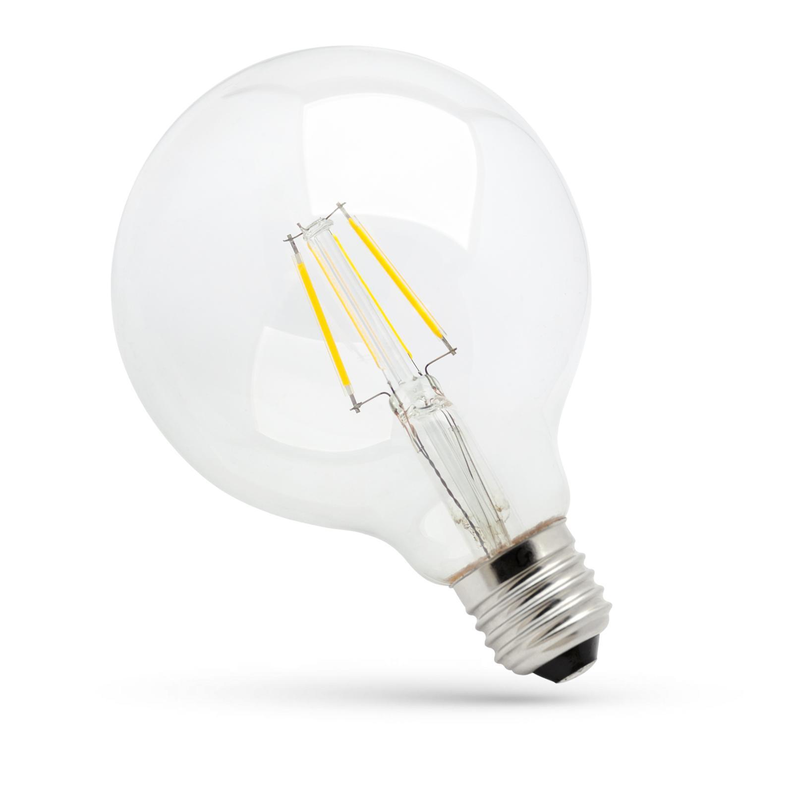LED G95 COG E-27 230V 4W WW CLEAR SPECTRUM